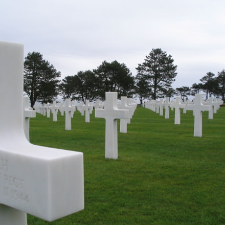 Normandy American Cemetary, Canon POWERSHOT A75