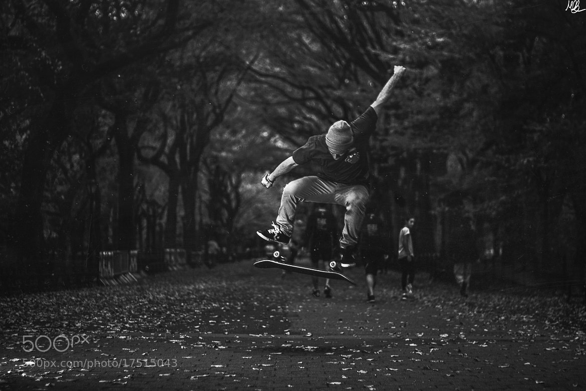 Photograph Kick Flip At Central Park by Marc-Olivier Brunet on 500px