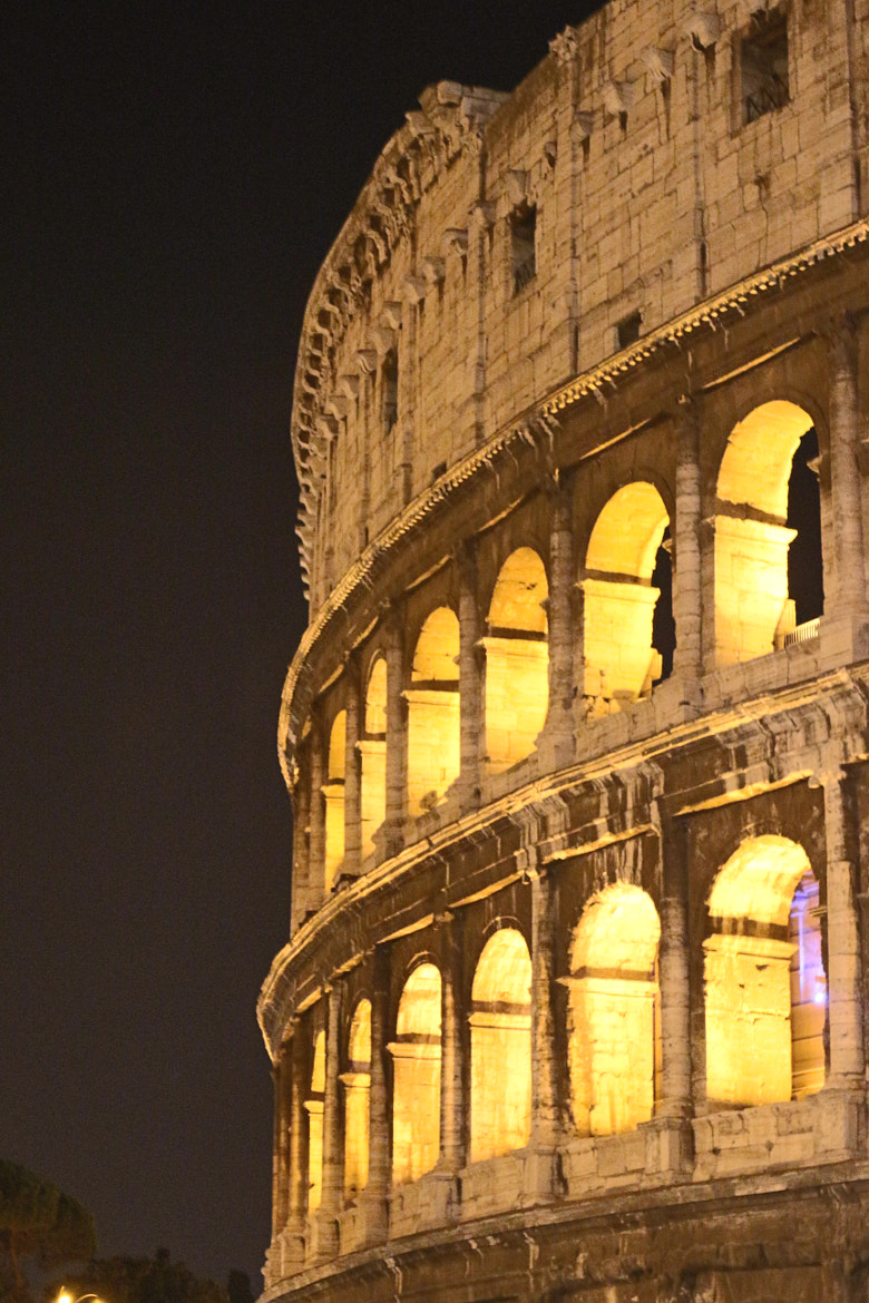 Photograph parziale colosseo by Rodolfo Cerquetti on 500px