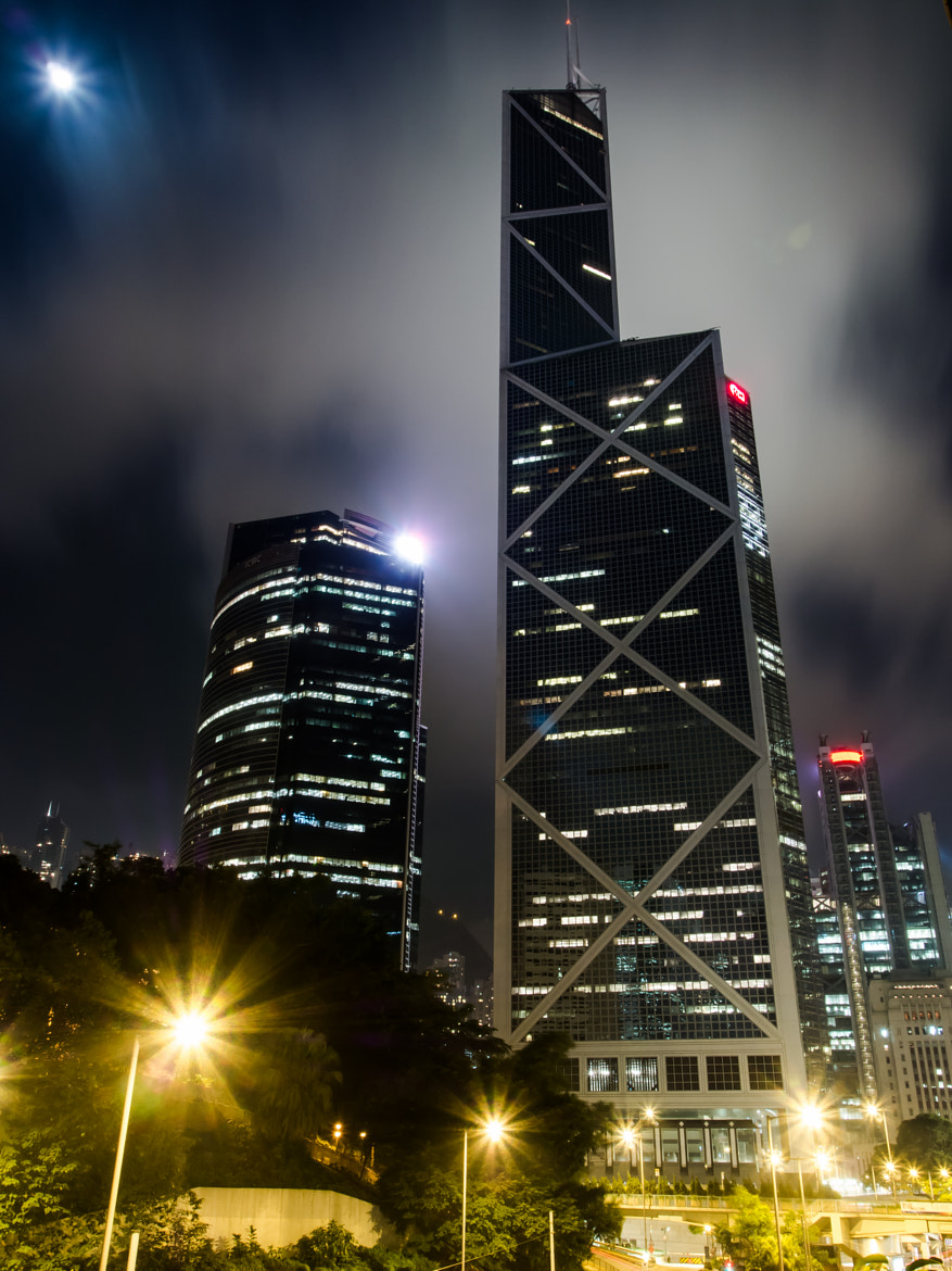 Photograph Bank of China by Vincent Chan on 500px