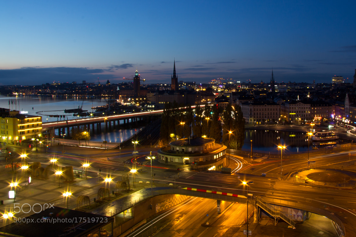 Photograph Stockholm sunset by Denis Caeyers on 500px