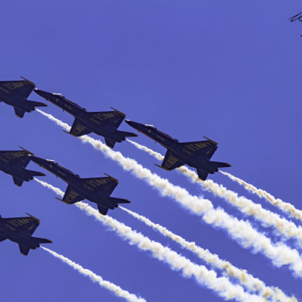 Blue Angels, Canon EOS 7D, Canon EF 600mm f/4.0L IS II USM