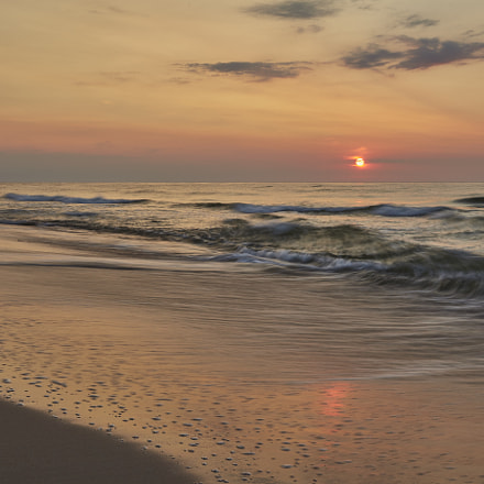 Sunset at Baltic sea, Canon EOS 5D MARK II, Canon EF 17-40mm f/4L USM