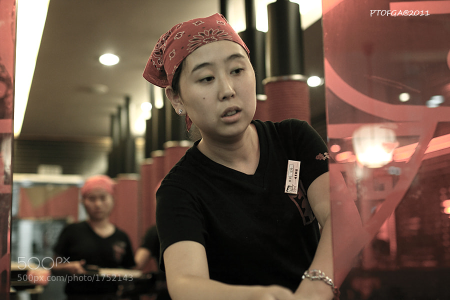 Photograph waitress by Tao Peng on 500px