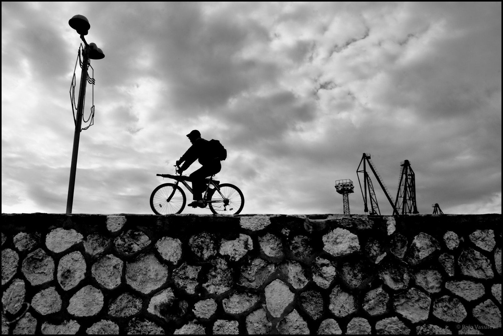 Photograph Fisherman on a bike by Bojo Vassilev on 500px