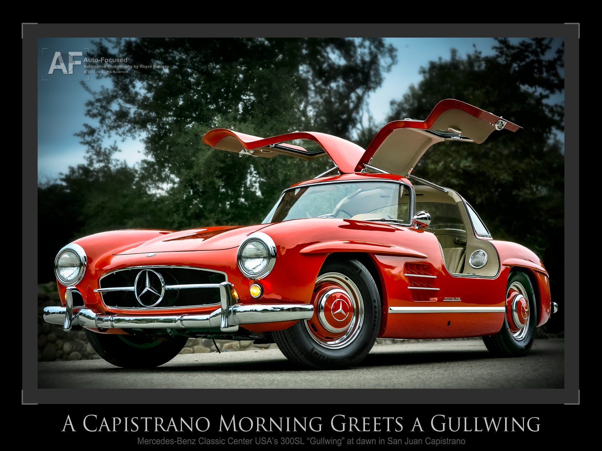 Photograph Another dawn in Capistrano greets a Gullwing by Royce Rumsey on 500px