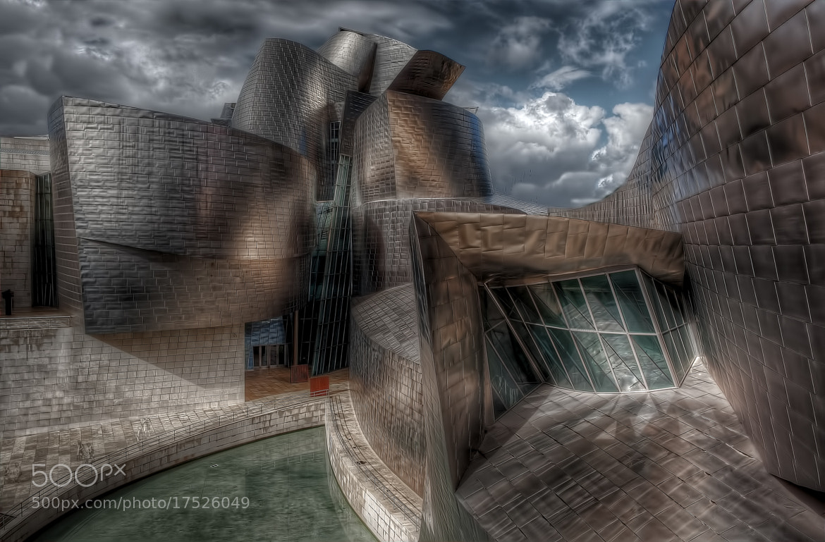 Photograph Gugenheim Museum by Sylvain Millier on 500px
