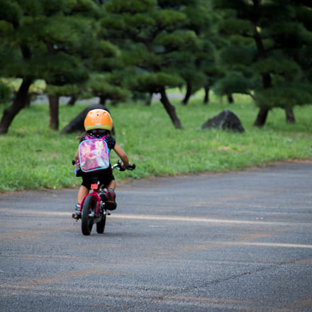 First riding, Canon EOS 8000D, Canon EF-S 55-250mm f/4-5.6 IS STM