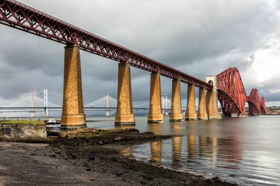 All three Forth bridges