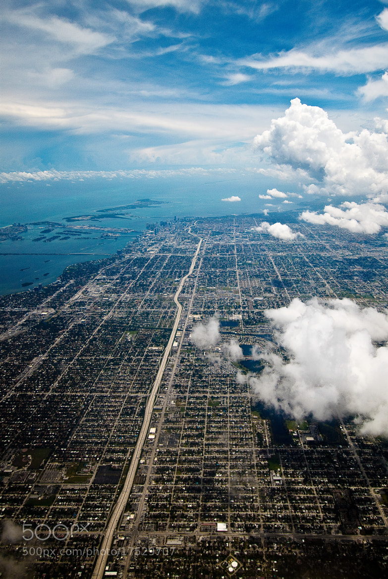 Photograph Miami from the Sky by Ralph Sobanski on 500px