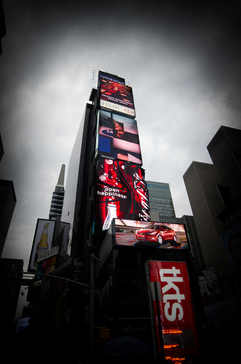 Photograph Times Square RED by Mikael Sundberg on 500px