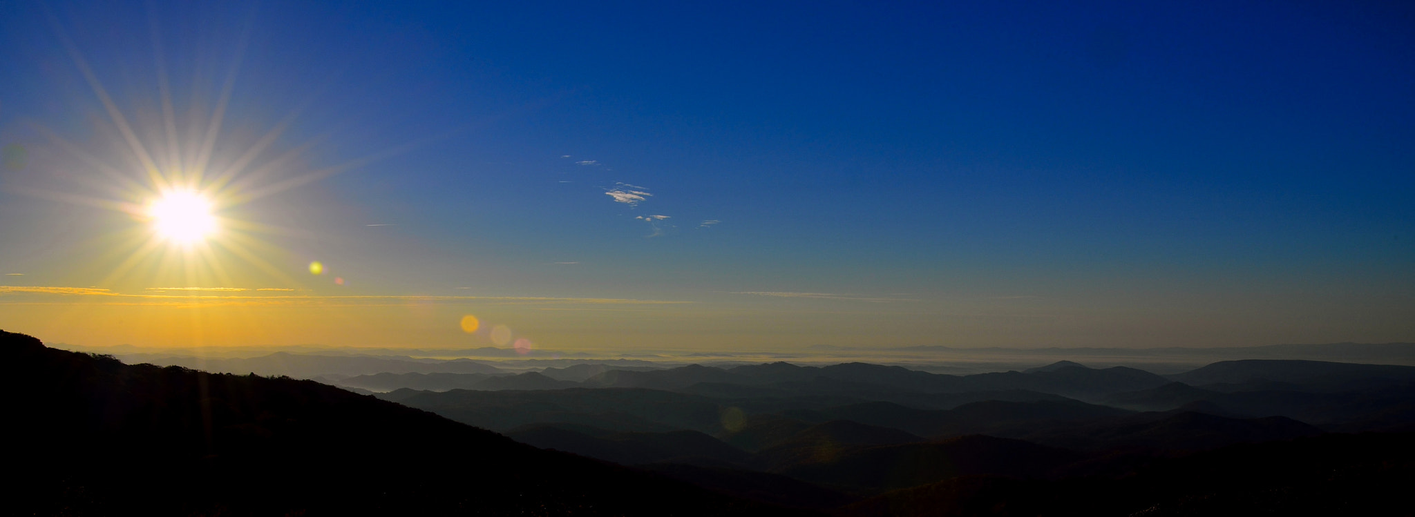 Photograph Sunset In The Blue Ridge Mountains by Joseph Broyles on 500px