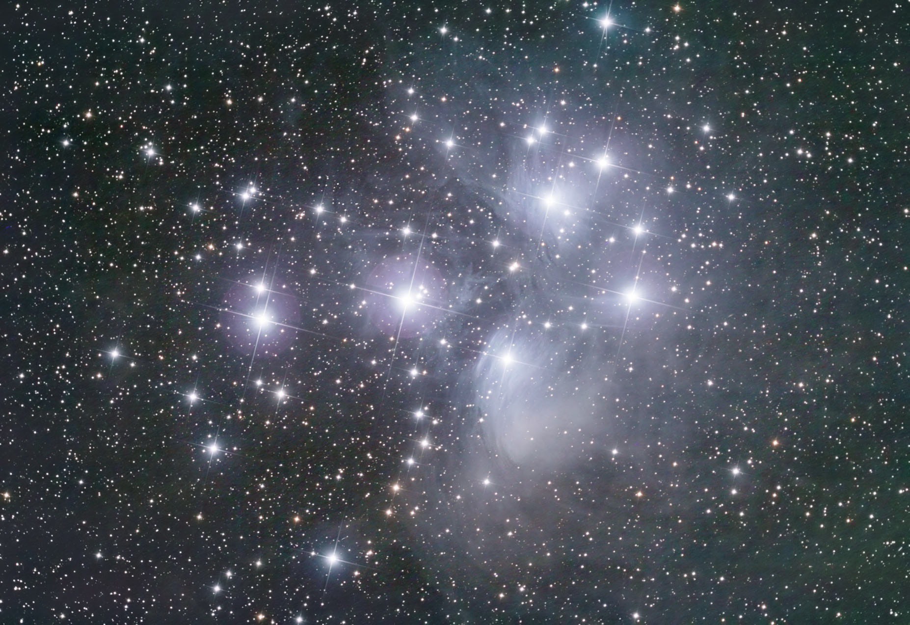 Photograph Pleiades by James Ryan on 500px