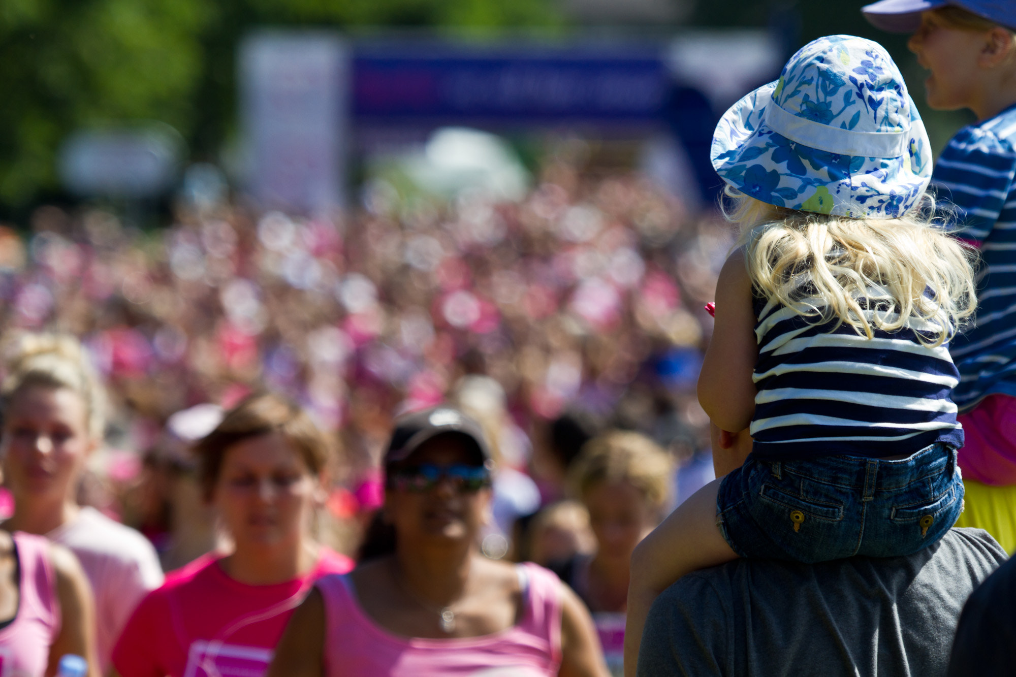 Photograph Race for Life by Steve Bryson on 500px