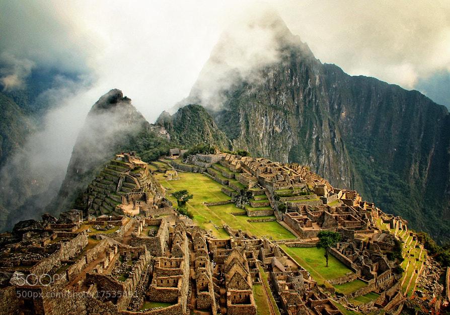 Machu Picchu by Lubomir Koulev (Lubomir_Koulev)) on 500px.com