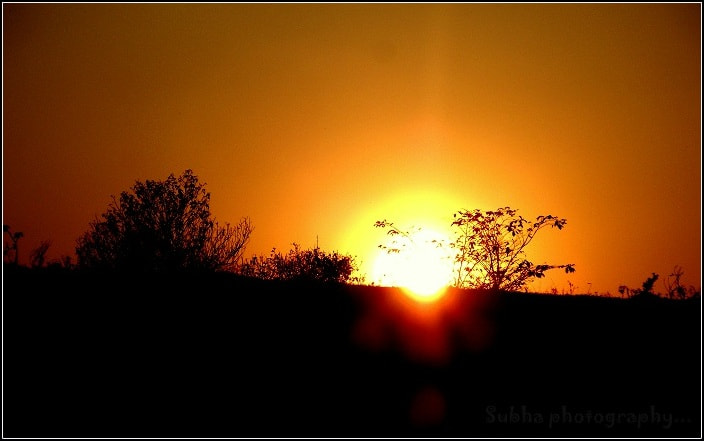Photograph sunset 3  by SUBHA   on 500px