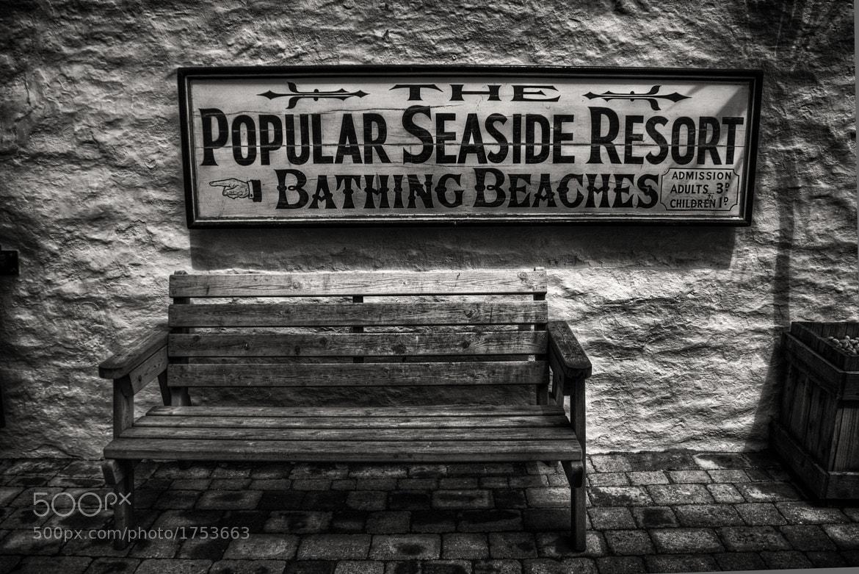 Photograph Take a seat by Steve Bryson on 500px