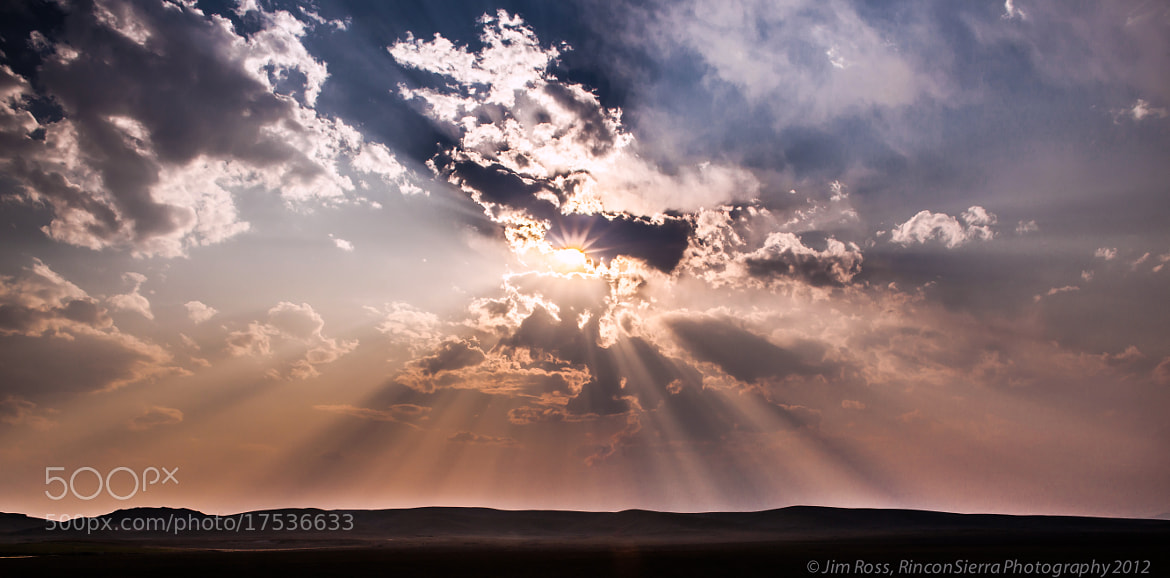Photograph Sun, Clouds, Smoke and Dust!!! by Jim Ross on 500px