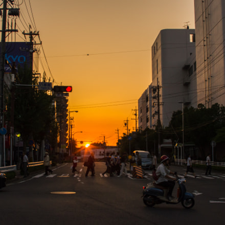 Sunset in my home, Nikon D7000, Sigma 30mm F1.4 EX DC HSM
