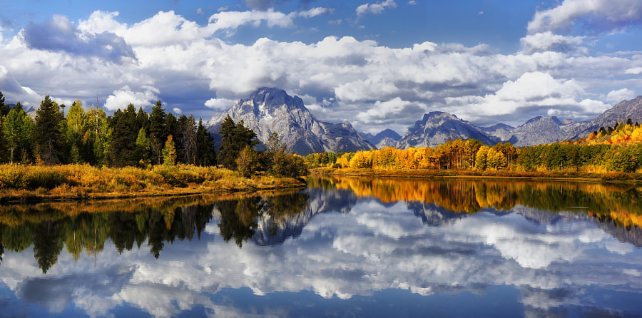 Oxbow Glory by Jeff Clow on 500px.com