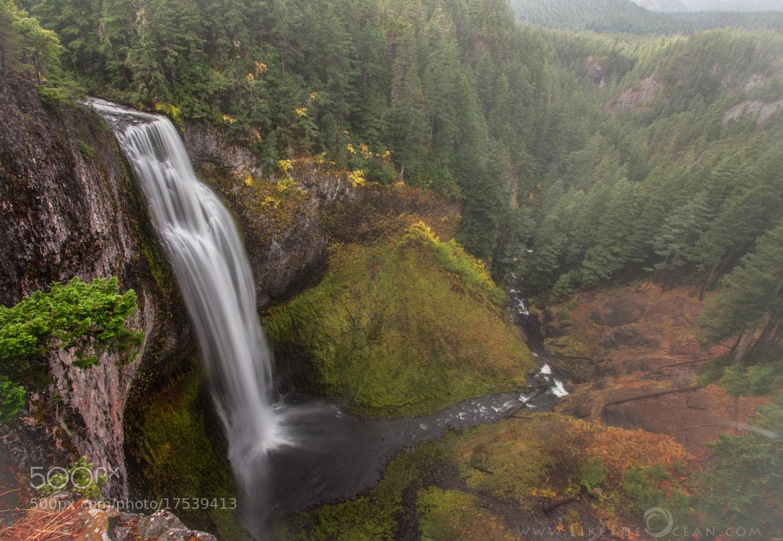 Photograph Salt Creek Falls, Oregon by Sathya R on 500px
