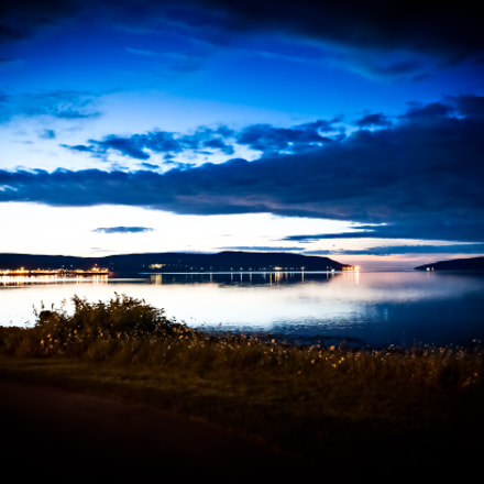Blue hour at Digby, Nova Scotia