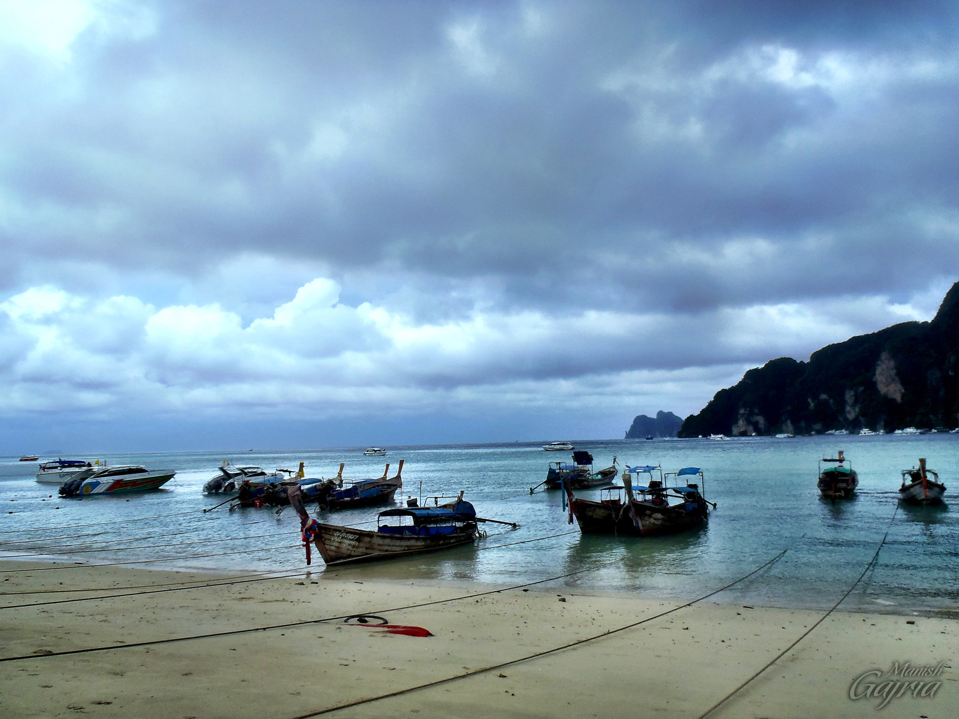 Photograph Boats at Phi Phi Island, Thailand by Manish Gajria on 500px