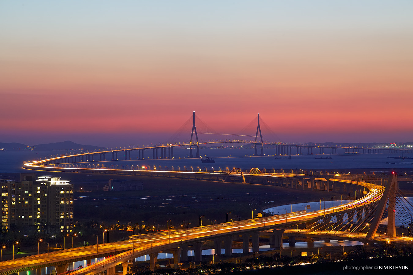 Photograph 인천대교, INCHEON Bridge by G. Nom on 500px
