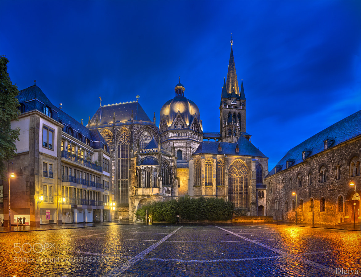 Photograph Aachen Cathedral At Night (Germany) by Domingo Leiva on 500px