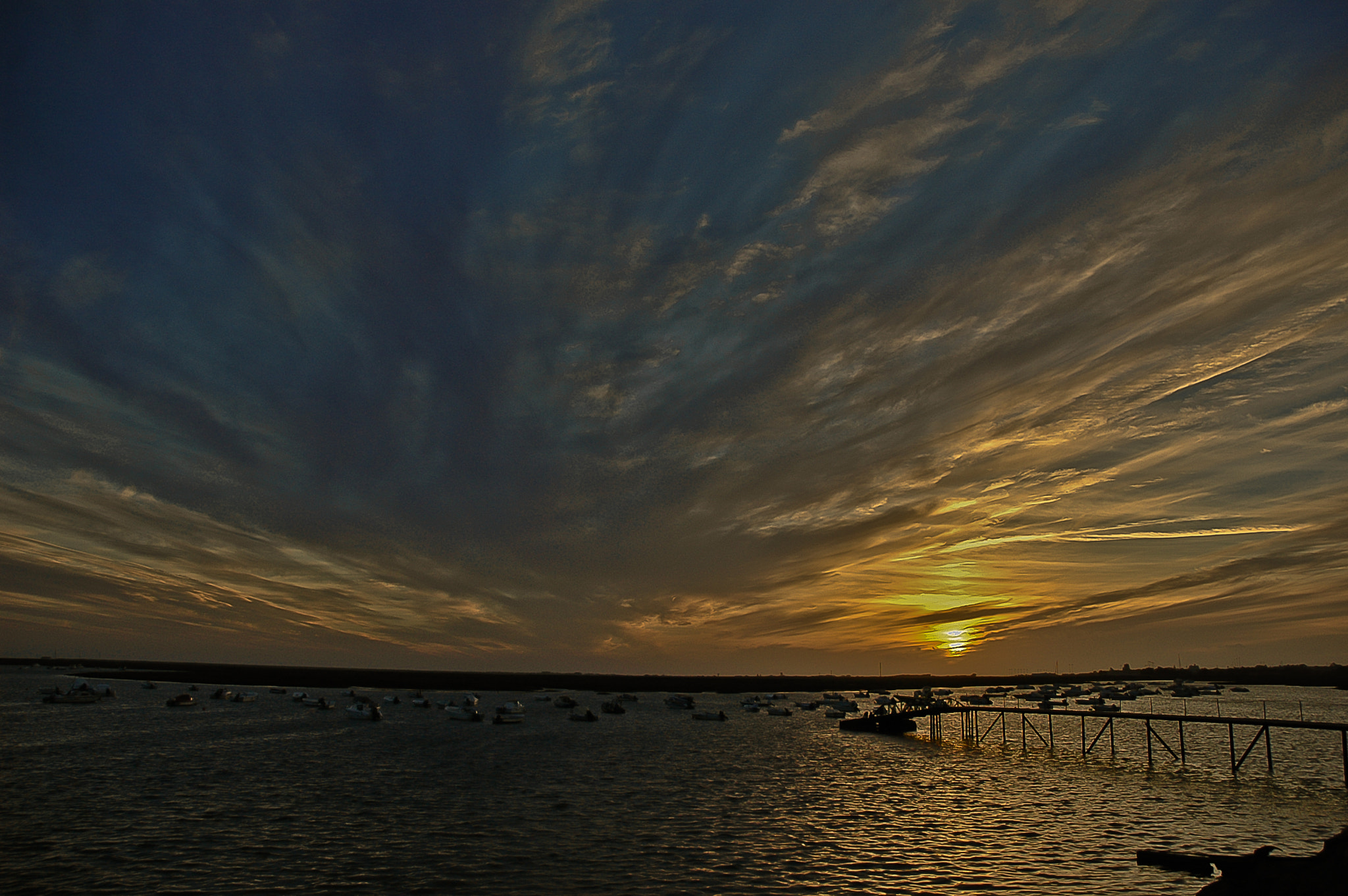 Photograph Sunset on Ria Formosa 2 - Faro by José Covas on 500px