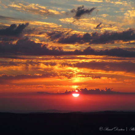 Sunset from the top, Canon IXUS 132
