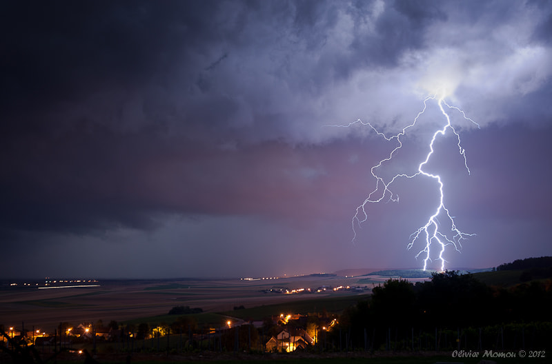 Photograph Orage by Olivier Momon on 500px