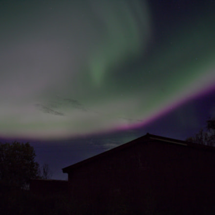 Northern light over the, Canon EOS 6D, Canon EF 28-80mm f/3.5-5.6 USM