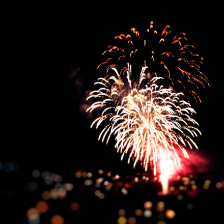 Firework, Canon EOS 1200D, Canon EF-S 18-55mm f/3.5-5.6 III