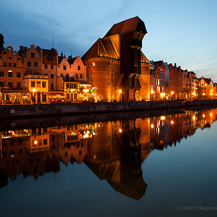 City skyline of Gdansk, Canon EOS 5D MARK II, Canon EF 24mm f/2.8 IS USM