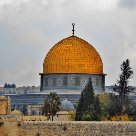 Dome of the Rock, Nikon COOLPIX L20