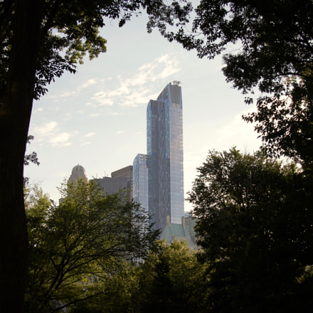 One57 building seen from, Canon EOS 550D, Sigma 18-125mm f/3.8-5.6 DC OS HSM