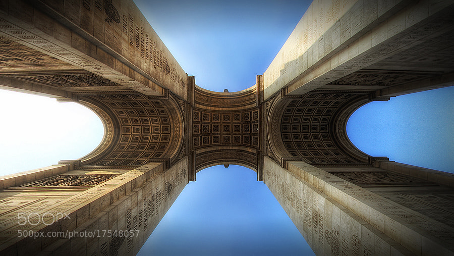 Photograph Up the Arc by Michael Baldwin on 500px