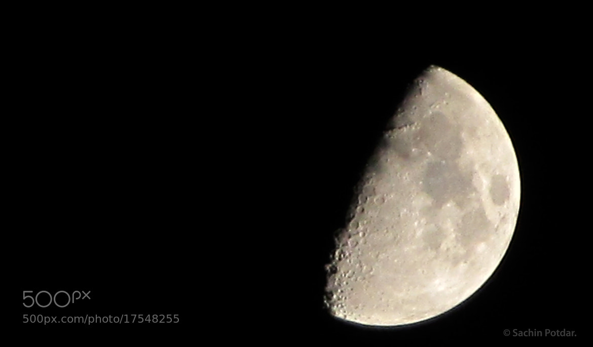Photograph Moon by Sachin Potdar on 500px