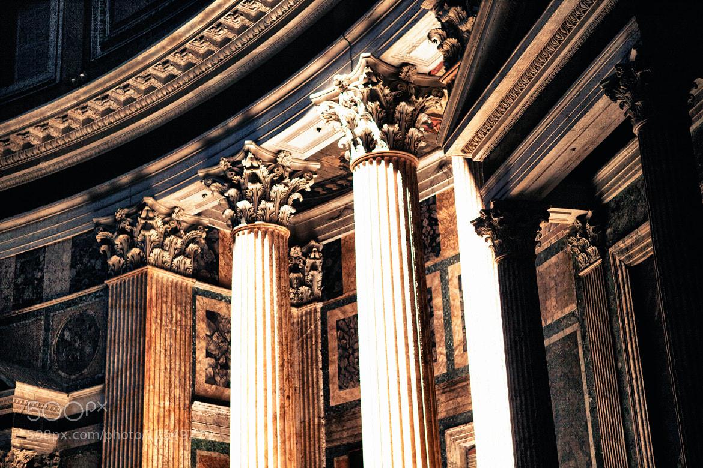 Photograph Pantheon, Rome by Salih Enes OZBAYOGLU on 500px