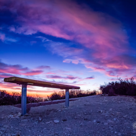 Below the Bench, Canon EOS 7D, Canon EF 8-15mm f/4L Fisheye USM