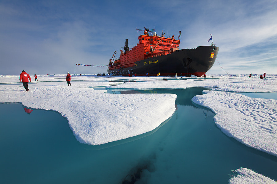 Photograph Walking in the North Pole by Sam Dobson on 500px