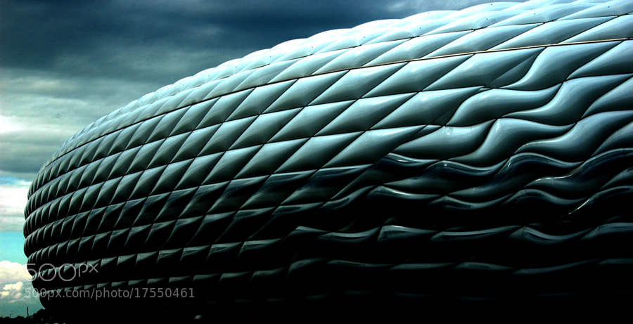 Photograph Allianz Arena irreal by Sir Trauti on 500px
