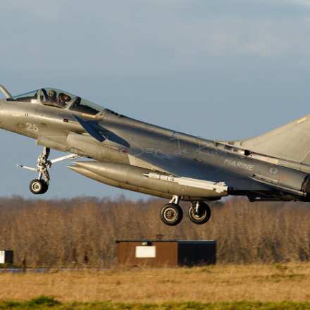 French Navy Rafale M 25, Canon EOS 20D, Canon EF 70-200mm f/2.8 L + 1.4x