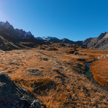 High altitude valley face, Canon EOS 6D, Canon EF 16-35mm f/4L IS USM