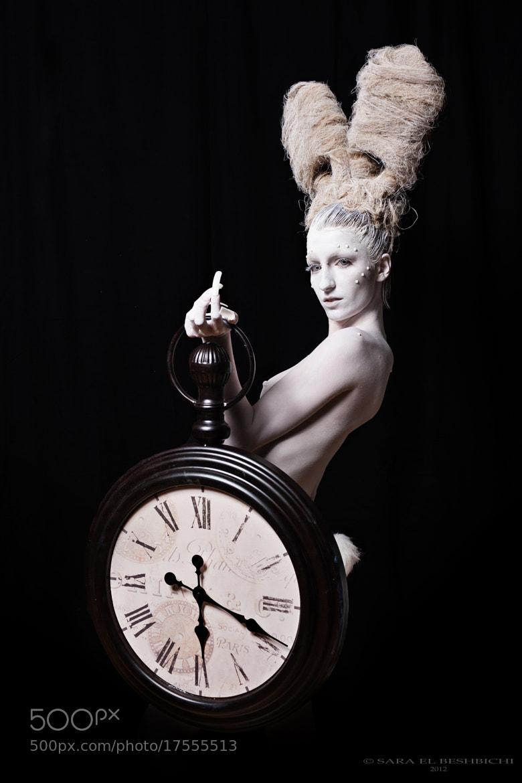 "Photograph White Rabbit ""tick tack"" by Sara El Beshbichi on 500px"