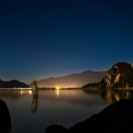 Squamish at night, Canon EOS REBEL T4I, Canon EF-S 17-85mm f/4-5.6 IS USM