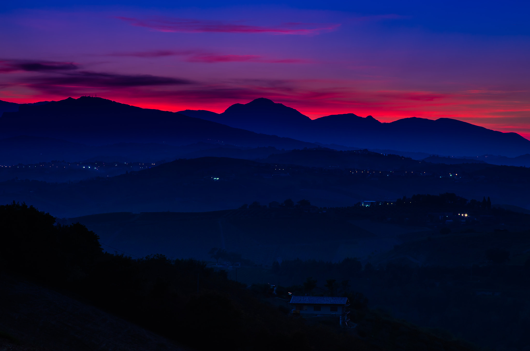 Photograph Red vs Blue by Teus Renes on 500px