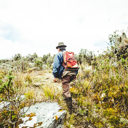 Trekking in the Colombian, Canon EOS 5D MARK II, Canon EF 20mm f/2.8 USM