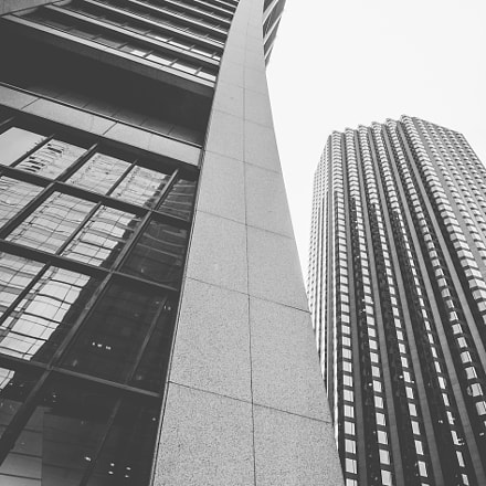 Chase Tower Curves, Nikon D5000, Sigma 10-20mm F3.5 EX DC HSM